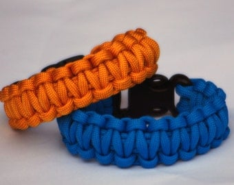 Portal/Portal 2 Inspired Paracord Wristband (Survival Wristband)