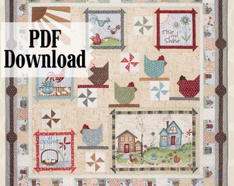 Home to Roost PDF Download Quilt Pattern