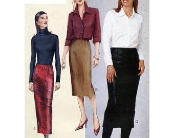 Vogue Sewing Pattern 7333 Misses' Petite Skirt Size:  A-B-C or D-E-F  Uncut