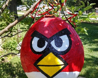 Angry Bird pinata MADE TO ORDER