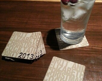 Custom Coasters, Graphically designed, and fabricated