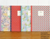 Flower Patterns Ruled Notebook / Floral Notebook / 101030396