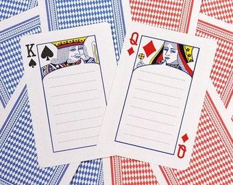 Playing Cards Memopad / 90 sheets / Memopad / Notepad