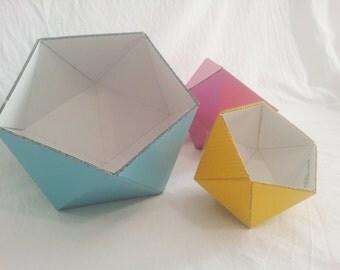 Poligomolo cardboard box