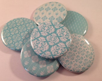 Teal Pocket Mirrors
