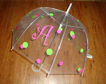 "32"" Kids personalized umbrella"