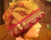Pill Box Cloche Hat