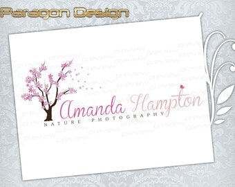 Premade Logo and Watermark - Customized For Photography / Any Business - Vector Logo Design (048)