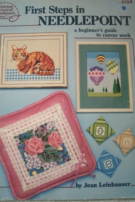 The NEEDLEPOINT PRIMER by Betty Gilmore (1973, Hardcover, Illustrated) Chilton