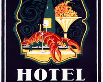 Popular items for seafood poster on Etsy
