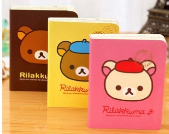 Sale! Cute bear notebook 108*82mm 157sheets--3 styles to choose