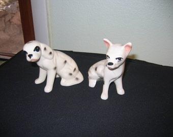 Dalmation dog figurines