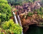 Kauai Waterfalls - Photo Magnet