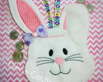 ITH Bunny Bank Felt Embroidery Design