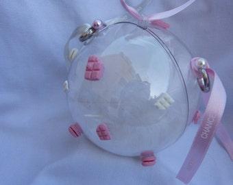 Wedding ring pillow Ball Gentle Gourmet