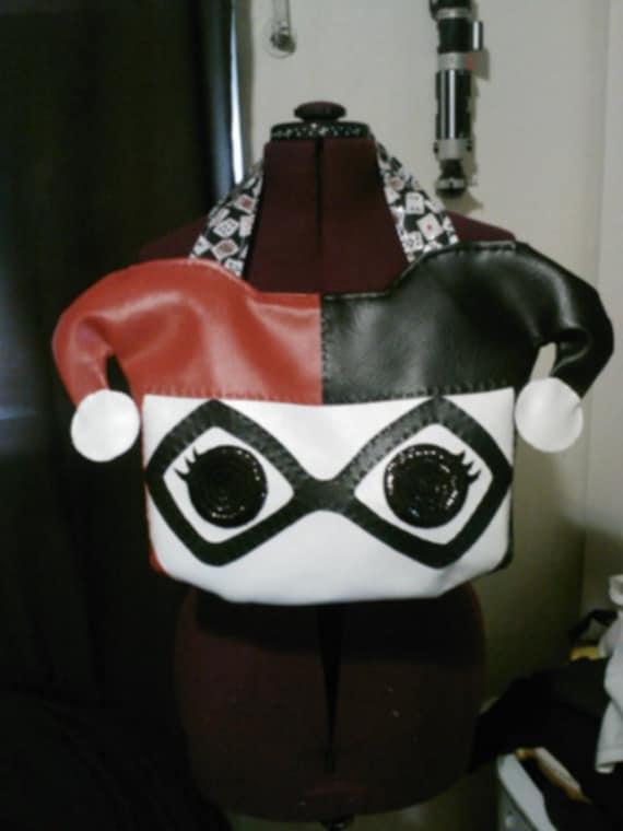 pop funko inspired harley quinn purse. Black Bedroom Furniture Sets. Home Design Ideas