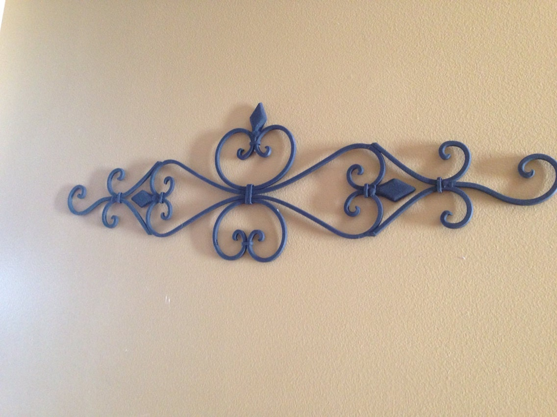 Items Similar To Black Wall Decor / Wrought Iron / Ornate