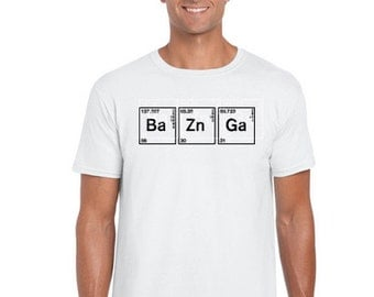 Ba Zn Ga big bang theory t shirt - Ba Zn Ga big bang theory graphic, sheldon cooper, big bang theory, #instagram, #trending tops, #bazinga