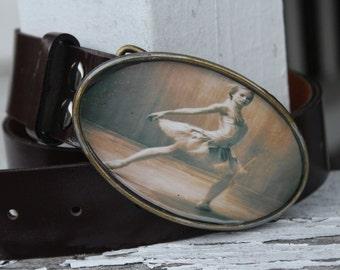 vintage style ballerina buckle