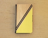 Flip wallet case yellow for iphone 4/4s, iphone 5, samsung S3 and S4. Geometric shapes