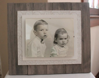 8 x 10 Rustic Chic Picture Frame