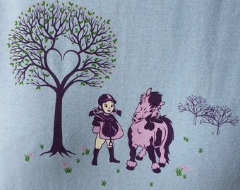 Tackin' Up, childrens horse tee