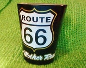 Vintage Route 66 shot glass in Excellent Condition