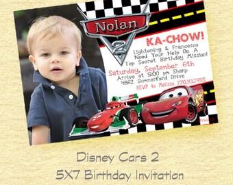 DISNEY Cars 2 Birthday Party/ Lightening Mcqueen Cars Party DIY- Cars Movie