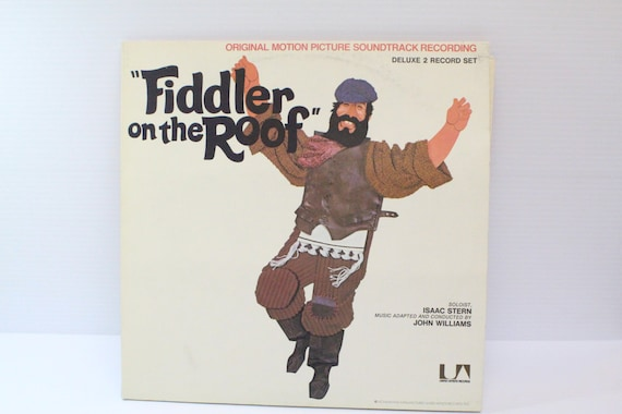 Fiddler On The Roof Vinyl Record Vintage Album By Thejellyjar