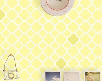 Wall Stencils Modern Pattern reusable stencil for walls just like wallpaper DIY