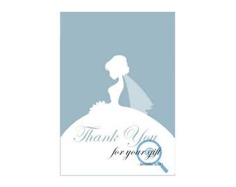 Bridal Thank You Card (wedding)