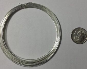 Sterling Silver Wire, 20 Gauge, Half Hard or Soft, Round, 1 Feet, 3, 5, 10 Feet Pricing