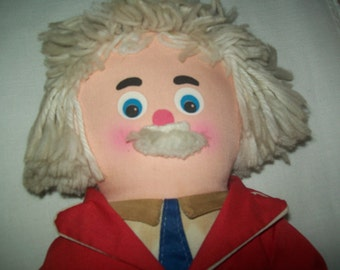 Vintage Captain Kangaroo Doll from Questor Education made in the 1970s