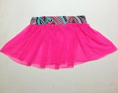 Neon Running Skirt/Tutu With Customized Waistband!