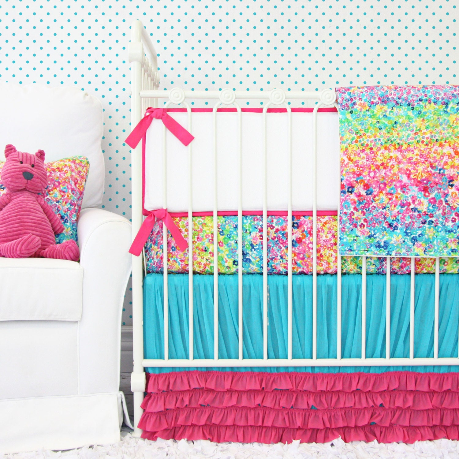 Bright Color Crib Bedding Buy Bright Colored Crib