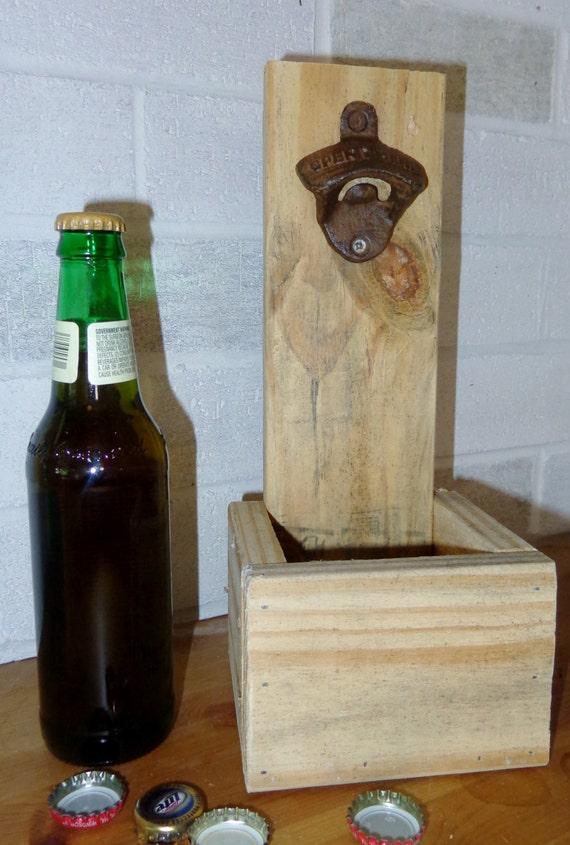 wall mounted bottle opener beer bottle cap holder wedding