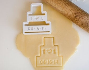 Custom Wedding Cake Cookie Cutter