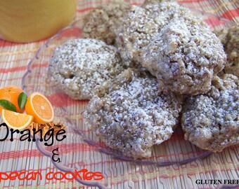 GLUTEN FREE Orange and Pecan Cookies - 1dz