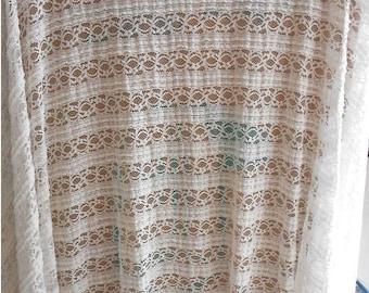 blinds  lace fabric White Lace / White Stretch lace Fabric / off White Stretch Lace / Floral lace fabric/splashy prints lace/dots lace
