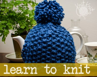 Granny Tea Cozy Kit - LEARN TO KNIT