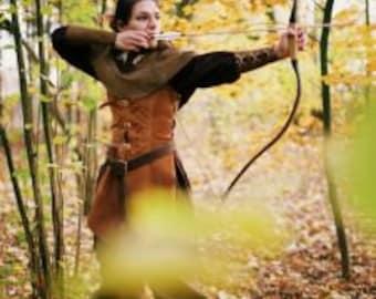 Female Ranger, Larp, Fantasy