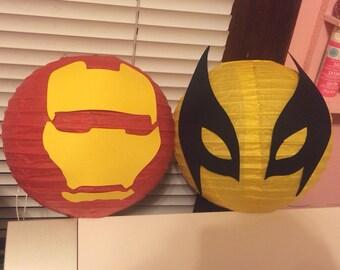 Superhero lanterns