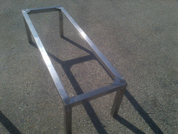 Stainless Metal Coffee Table Nightstand Custom Sizes