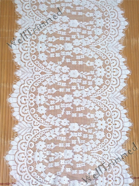 Lace table runner 12 1 2 wide lace table runner for 12 wide table