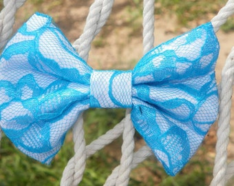 Lace Overlay Bows