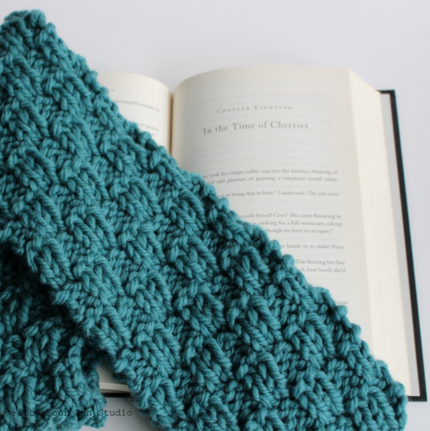 Quick Cowl Knitting Pattern : KNITTING PATTERN / Scarf / Cowl / Quick & by FiftyFourTenStudio