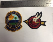 Daytona Beach Highway Patrol Patches collectible souvenir