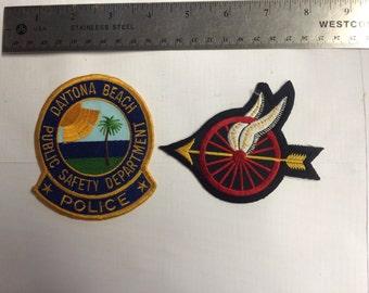 Daytona Beach Highway Patrol Patches collectible souvenir