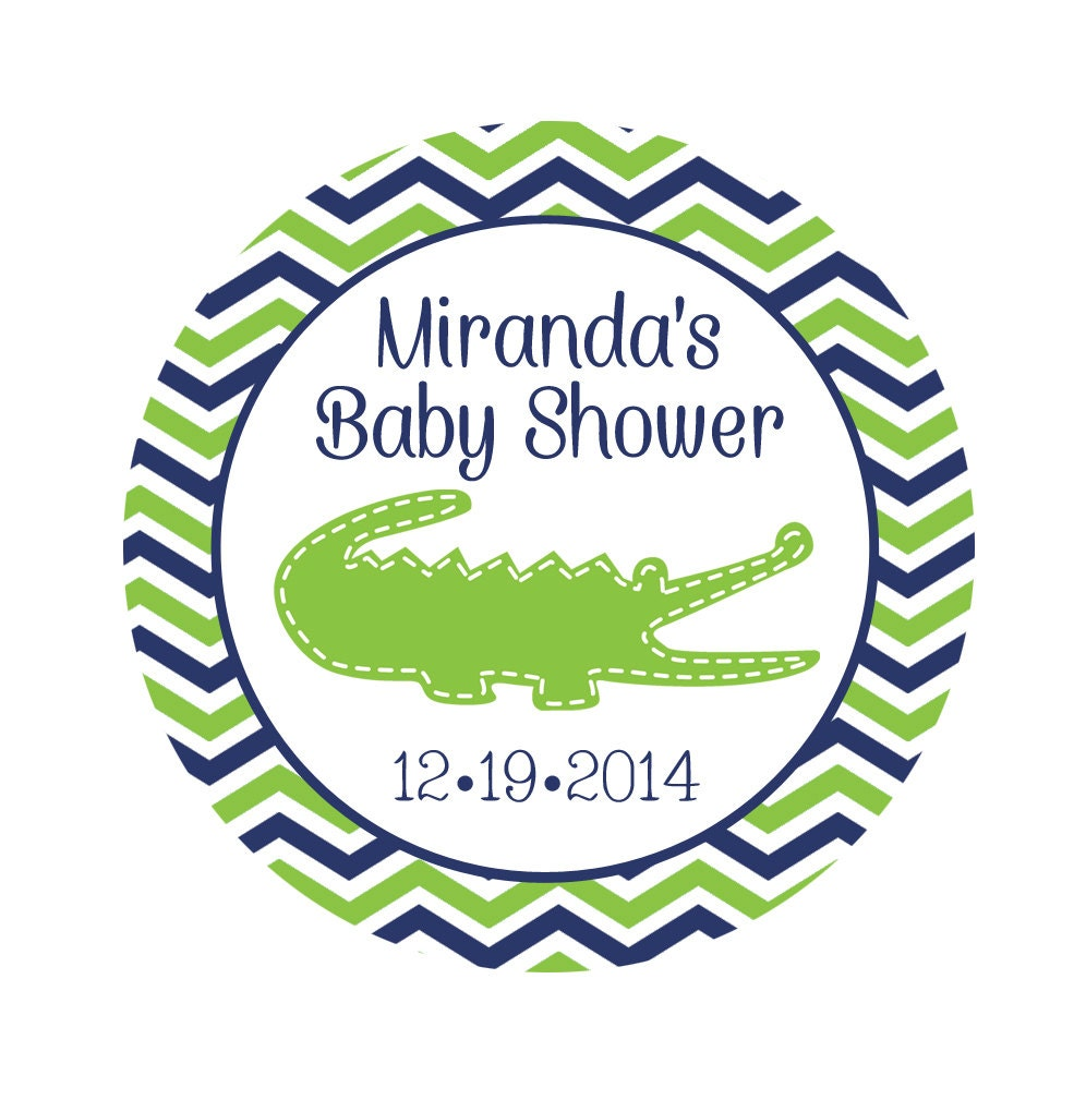 personalized baby shower stickers personalized by thepaperislands