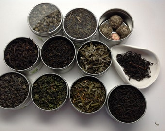 Chinese Tea Sampler (10 Kinds!)